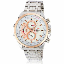 Forest Extravagant White Dial Solid Stainless Steel Men' s Watch!!