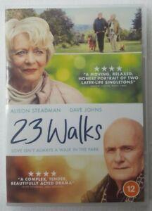 23 Walks 2019 Starring Alison Steadman Dave Johns 2020 Region 2 DVD (Disc VGC)