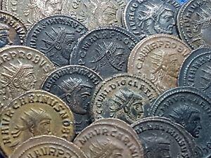 One-ancient-Roman-Silvered-Billon-Bronze-Antoninianus-superb-quality