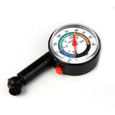 Auto Motor Car Bike Tyre Tire Air Pressure Gauge Dial Meter Truck Vehicle Tester
