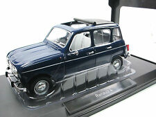 Norev 185241 - 1965 Renault 4 (R4) - Kopenhagen Blau - 1/18 - Metall-Modell