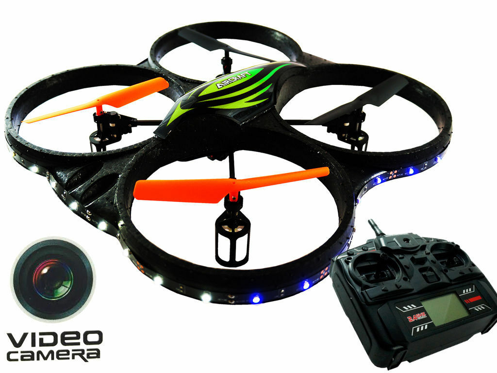 Rotor 2.4ghz, 6 ch, 6 - kopflose drohne helikopter rc quadcopter w   hd - kamera.