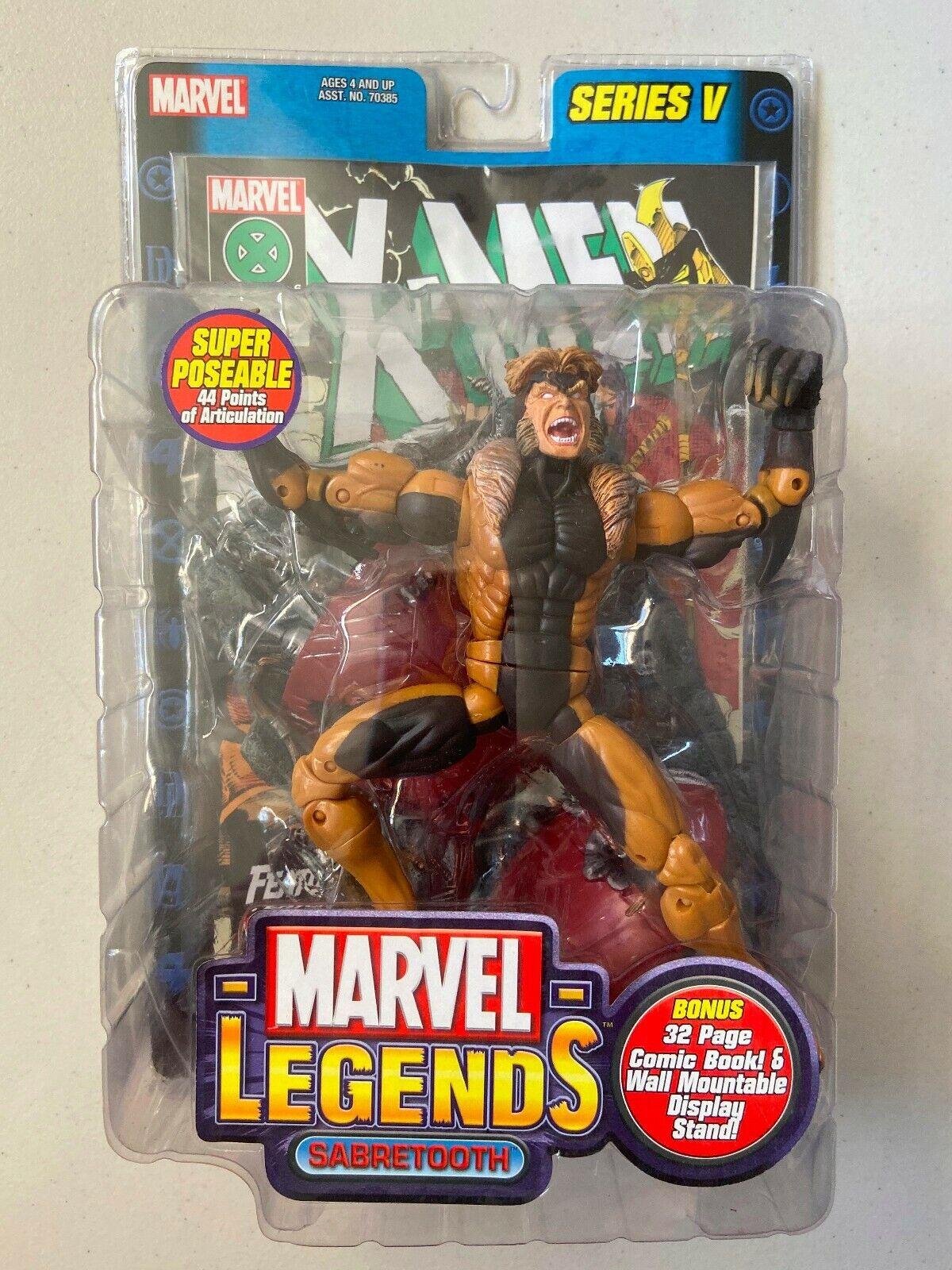 Marvel Legends 6  Wirkung Figure SABERTOOTH serie 5 BRAND NEW X-menschen