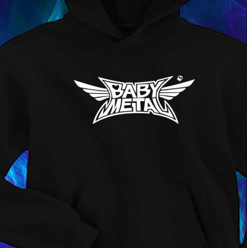 Black Hoody Hoddie BabyMetal Band Logo S-XXL