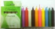 """Chime Spell Candles GREEN Mini 4"""" Box of 10 Pagan Wicca Altar Ritual FREE SHIP"""