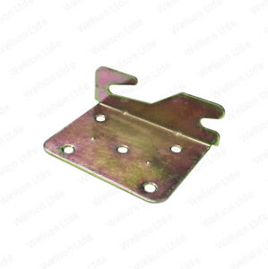 Heavy Duty Bed Frame Metal Corner Bracket Left Ebay