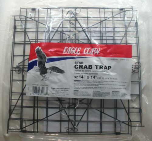 """Eagle Claw 10160-002 2 Wire Star à crabes 14/"""" 23088"""