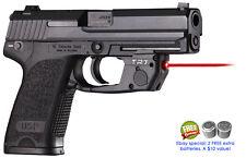 ARMALASER TR7 HK H&K USP FULL SIZE SUPER-BRIGHT 635nm LASER WITH GRIP ACTIVATION