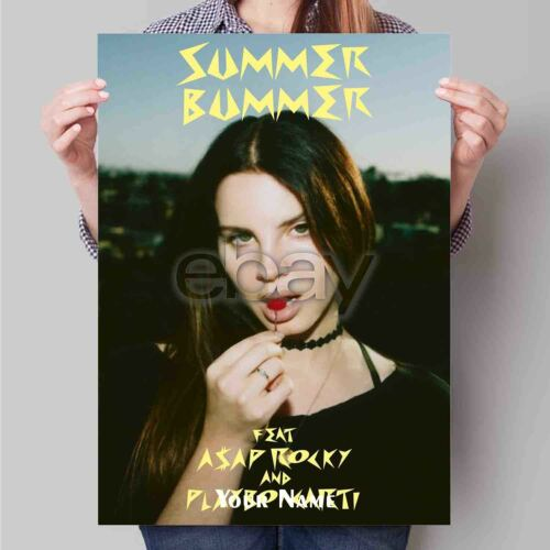 Lana Del Rey Summer Bummer New Personalized Art Poster Print Custom Wall Decor