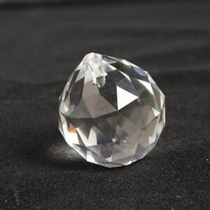 50 MM FENG SHUI HÄNGENDE KRISTALLKUGEL Kugel Prism Regenbogen Suncatcher