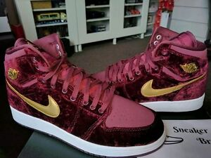 c27755aa2a8 Nike Air Jordan Retro I 1 High Premium Prem Heiress Pack HC Velvet ...