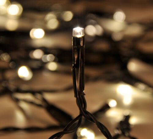 Außen LED Lichterkette 100 Lampen mit Auto-Timer für Innen 76096 Weihnachten