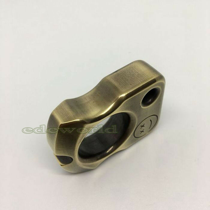 Handmade Solid Brass Outdoor EDC Tactical Defense  Survival Tool Key Chain KS-5ST  factory outlet