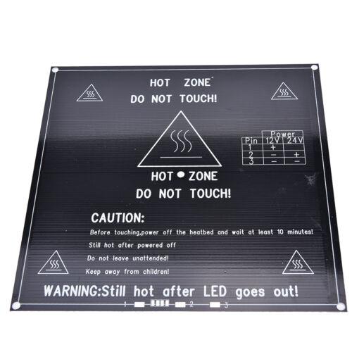 RepRap 3D Printer Heatbed MK2B 12V//24V PCB Hot Plate Heat BedFor PrusaMende UATA