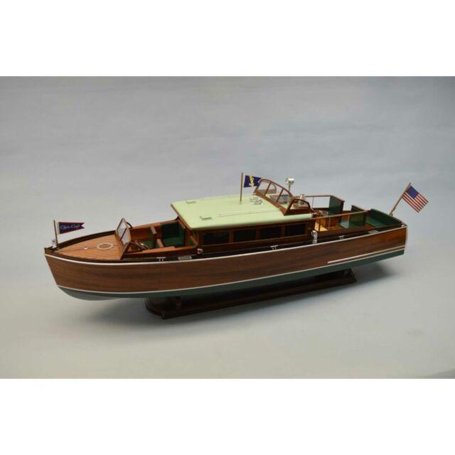 "Dumas 1273 1:12 38/"" 1929 Chris Craft 38/' Commuter Boat Kit"