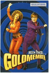 Cartao Postal De Austin Powers Goldmember 2002 Filme Mike Myers E Beyonce Ebay