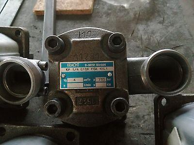 Schnelle Lieferung Kracht Hydraulikpumpe Kp1-1/4 G10a Koa 4nl1, Neu Auswahlmaterialien