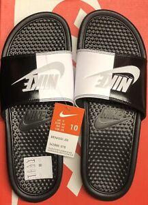 Hong Kong microscópico El cielo  Nike Benassi JDI Mens Slide UK 9 EUR 44 US 10 Brand New With Tags In Box  887232543303 | eBay