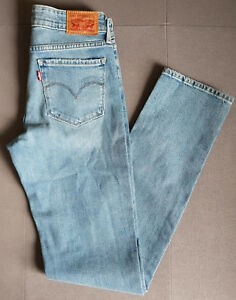 Damen 712 Levi´s Girl 18884 Levis Slim W27 End L32 0076 West Jeans rOnwRAr