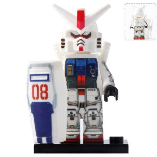 Gundam Warrior RX78 2 RX78 AL RX79G RX178 AEUG RX178 MKII Lego Moc Minifigures