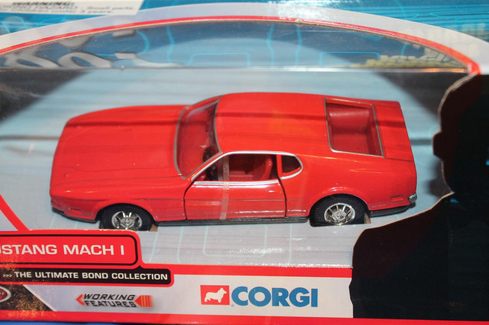 CORGI TOYS  JAMES BOND  Ford Mustang Mach I  Diamonds are forever