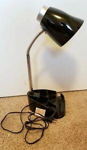 Limelights Gooseneck Organizer Desk Lamp With Charging