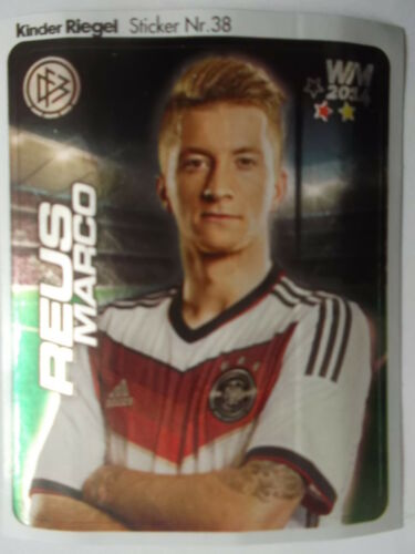duplo//hanuta 38 WM 2014 Marco Reus Deutschland