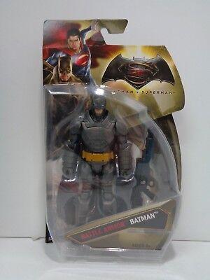 DC Comics BATTLE ARMOR BATMAN Batman V Superman MOC 2015 Mattel