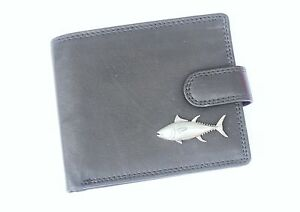 Tuna-Fish-Leather-Wallet-BLACK-or-Brown-Fishing-Gift-379