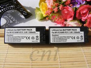 2pk-Battery-FOR-SONY-NP-FC11-NP-FC10-Cyber-shot-DSC-V1-DSC-P10-Digital-Camera