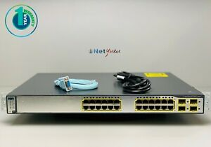 Cisco-WS-C3750G-24TS-S1U-24-Port-3750G-Gigabit-Switch-SAME-DAY-SHIPPING