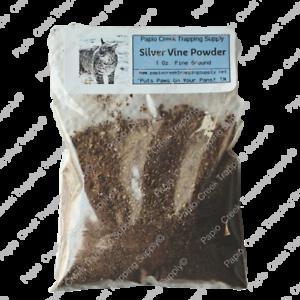 Silver-Vine-Silvervine-Fruit-Gall-Fine-Ground-1-Oz-Bobcat-Trapping-Attractant
