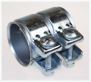 1St. BayWorld Auspuff Universal Rohrverbinder 60x64,5x80mm Doppelschelle 60x80mm