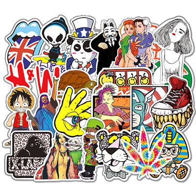 100PC Skateboard Stickers bomb Vinyl Laptop Luggage DRAGON BALL Sticker Lot cool