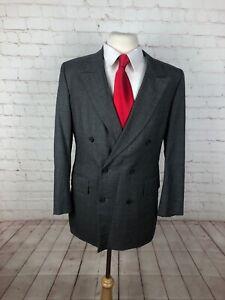Saint-Laurie-Men-039-s-Gray-Suit-40R-32X28-595