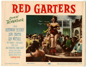 ROSEMARY-CLOONEY-JACK-CARSON-RED-GARTERS-Lobby-Card-1-1954-F-PARAMOUNT