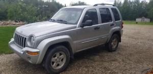 2004 Jeep Liberty 4x4 . $1000.00 firm.