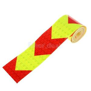 3 Meters Emergency Sticker Tape Reflective Decal Film Red /& Yellow