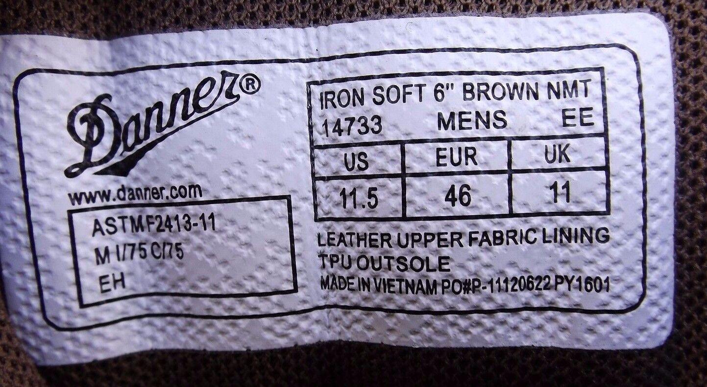 New DANNER Ironsoft Größe 11.5 EE Safety Toe Stiefel 14733 14733 14733 RETAIL  190 2ba41c
