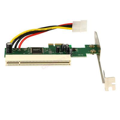 PCI-e PCI Express to PCI Adapter Card Riser Extender 32bit Asmedia 1083 Chip US