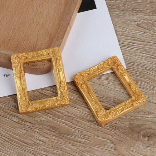 Miniature art picture photo painting frame dollhouse decor accessories