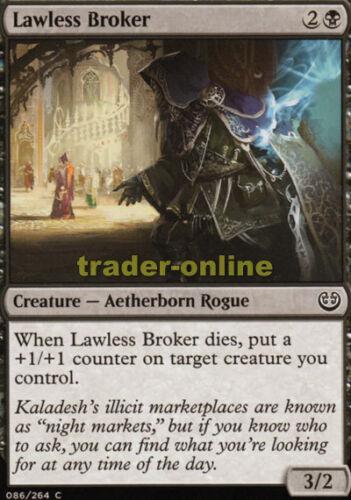 Gesetzloser Zwischenhändler Kaladesh Magic 4x Lawless Broker