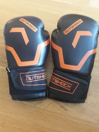 Outshock 10oz Boxing Gloves Excellent Condition