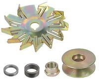 Wide Belt Pulley 5/8 - 3/4 Fan & Spacer 10dn 10si 12si Tractor Alternator Kit