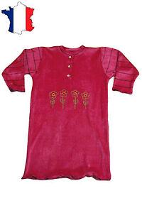 Chemise de nuit de 2 ans à 10 ans (fushia) NEUF - GHIMI