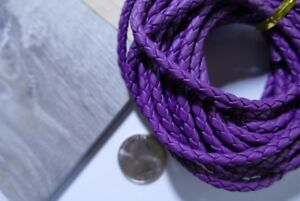 DIY-Wedding-Party-Bolo-Ties-Royal-Purple-034-Perfect-034-cord-2pcs-40-034-The-easiest