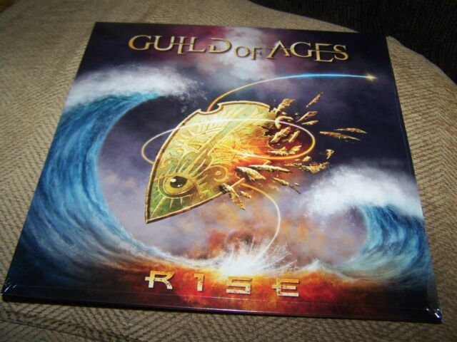 Guild Of Ages - Rise - Vinyl Album  - single sleeve Blue Vinyl Numbered edition