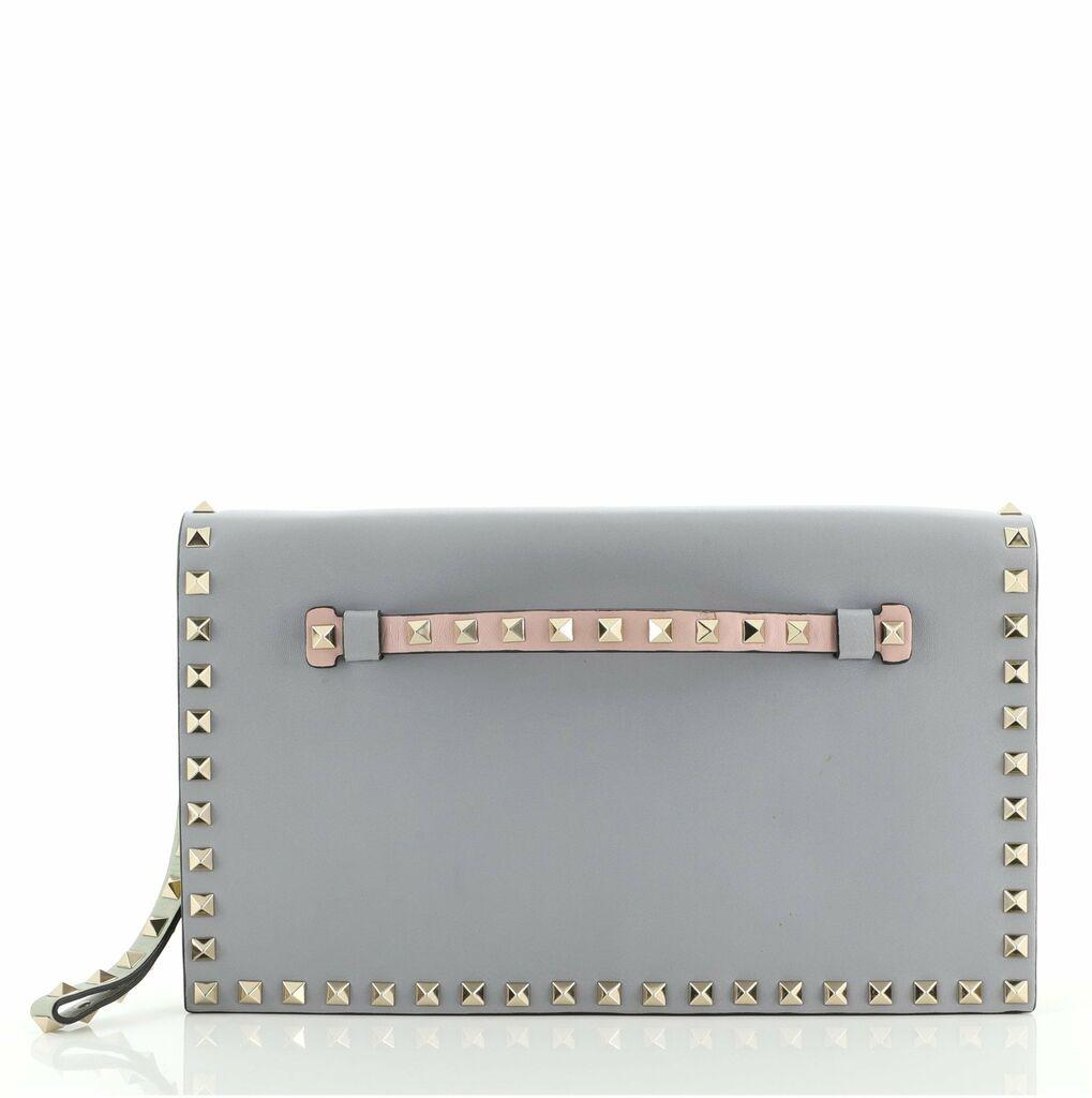 Valentino Rockstud Flap Clutch Leather  | eBay