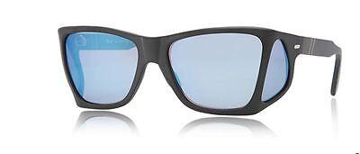 Discreto Persol 0009 57 900/o4 Black 4 Lenses Sunglasses Sole Mirror Blue Specchio Comodo E Facile Da Indossare