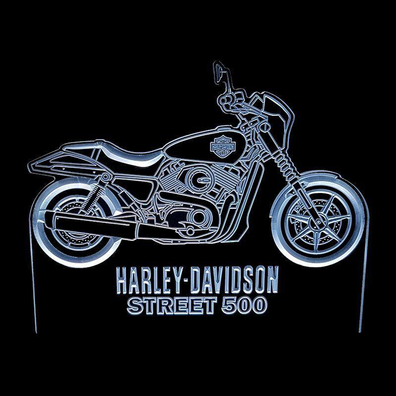 HARLEY DAVIDSON STREET 500 - ACRYLIC LED SIGN